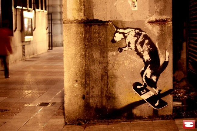 Street Art Par Sr.x - Gijon (Espagne)