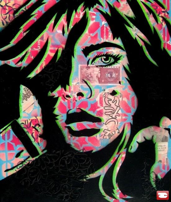 Street Art By Papermonster - New York City (NY)