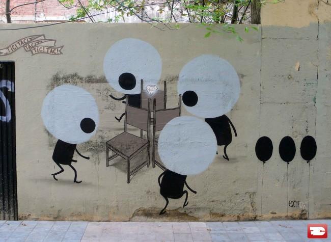 Street Art By Escif - Valenza (Spain)