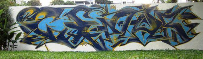 Piece Par Scribe01 - Singapour (Singapour)