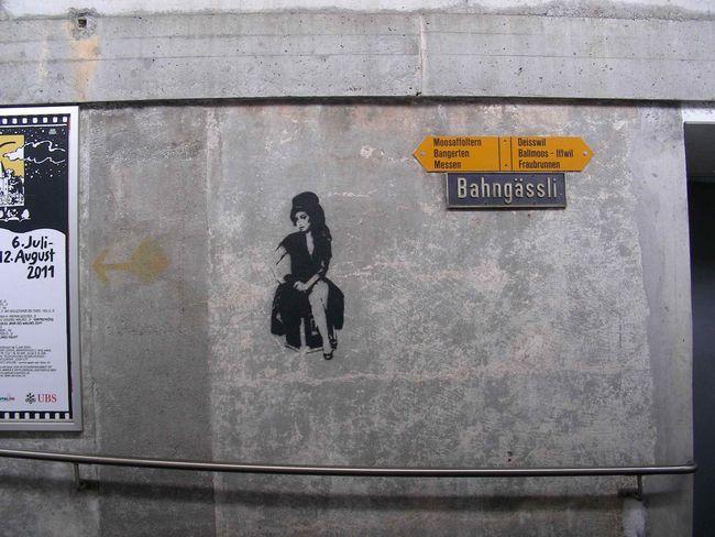 Street Art Par Zaron - Berne (Suisse)