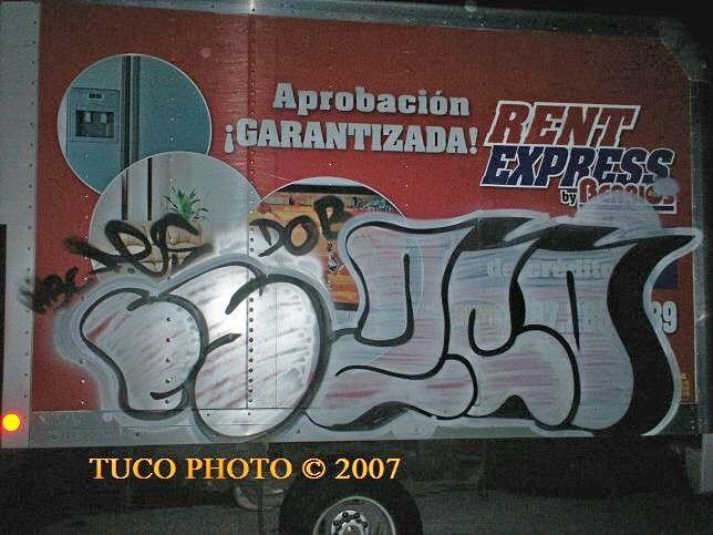 Throw Ups Par Tuco, Fes  - Humacao (Porto Rico)