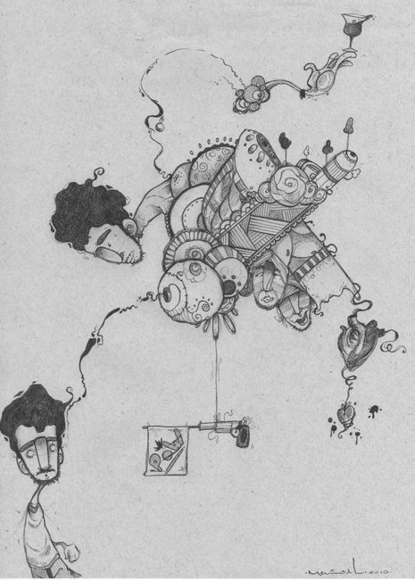 Sketch Par Mavik - Recife (Bresil)