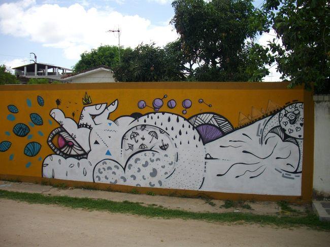 Street Art Par Mavik - Recife (Bresil)