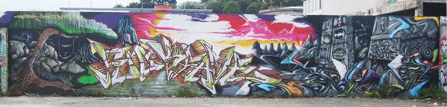 Fresques Par Seku - Brest (France)