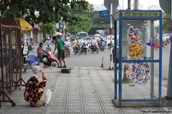 Street Art Par ~1escv? - Thanh Phố Hồ Chi Minh (Viet Nam)