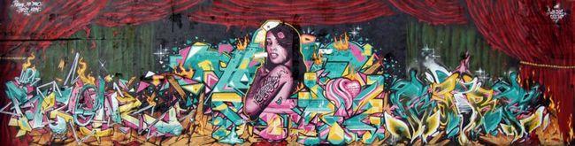 Fresques Par Mr.dheo, Katre, Reso, Pariz - Paris (France)