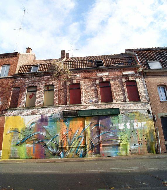 Street Art Par Amin - Roubaix (France)