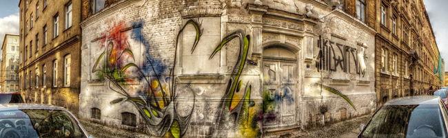 Street Art Par Amin - Halle (Allemagne)