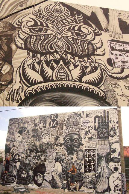 Fresques Par Gaia, Chris Dyer - Miami (FL)