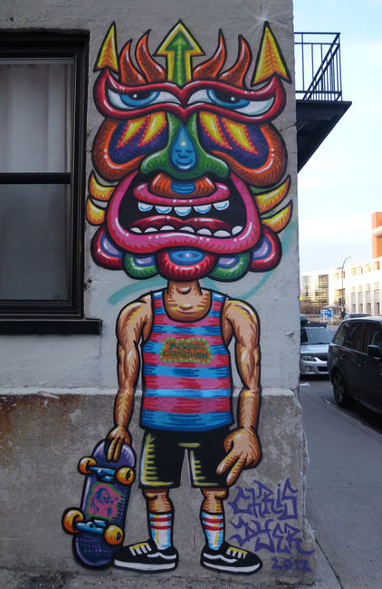 Street Art Par Chris Dyer - Montreal (Canada)
