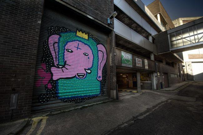 Street Art Par Kid Acne - Sheffield (Royaume Uni)