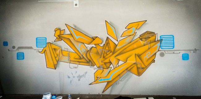 Fresques Par Man - Shiraz (Iran)