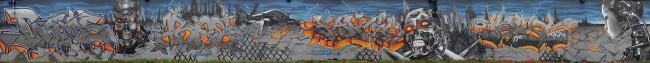 Big Walls By Extas, Seba, Dams, Slim, Hek - Paris (France)