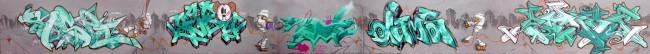 Big Walls By Esper, Seba, Astro, Dams, Slim, Raphe - Paris (France)