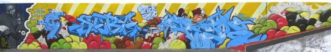 Big Walls By Esper, Gustav, Seba, Cey2 - Paris (France)