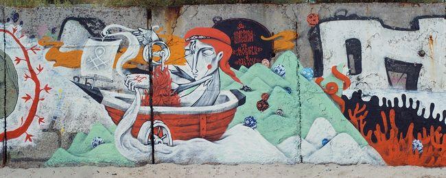 Street Art Par Vitae Viazi - Odesa (Ukraine)