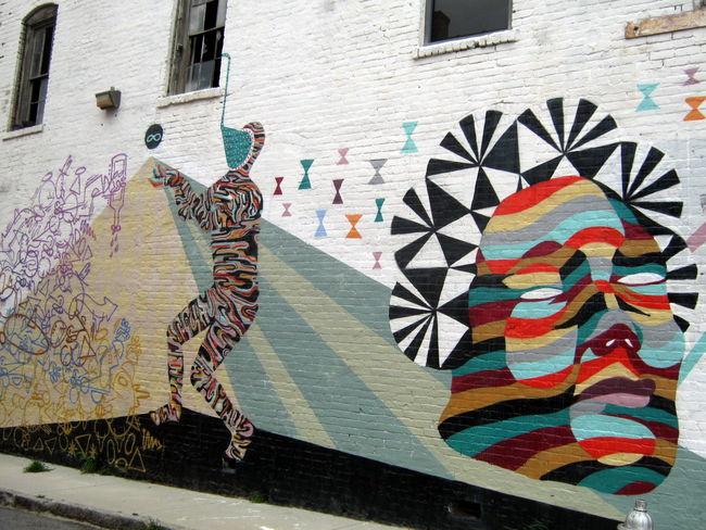 Street Art Par Feral - Atlanta (GA)