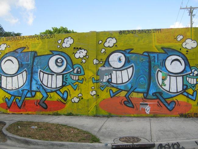 Street Art Par Pez - Miami (FL)