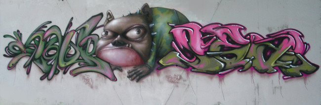 Fresques Par Ador, Saw, Seal - Nantes (France)