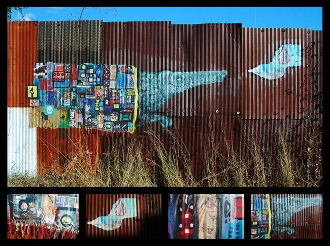 Street Art Par Malo Farfan - Oaxaca De Juarez (Mexique)
