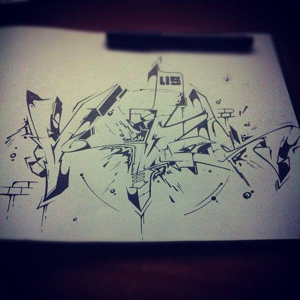 Sketch Par Atew-one - Iglesias (Italie)