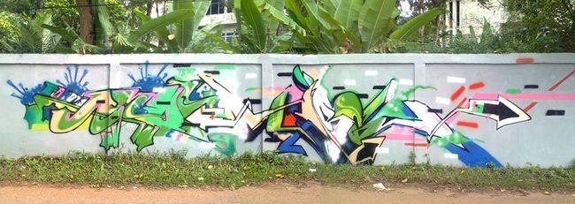 Fresques Par Blatz - Jambi (Indonesie)