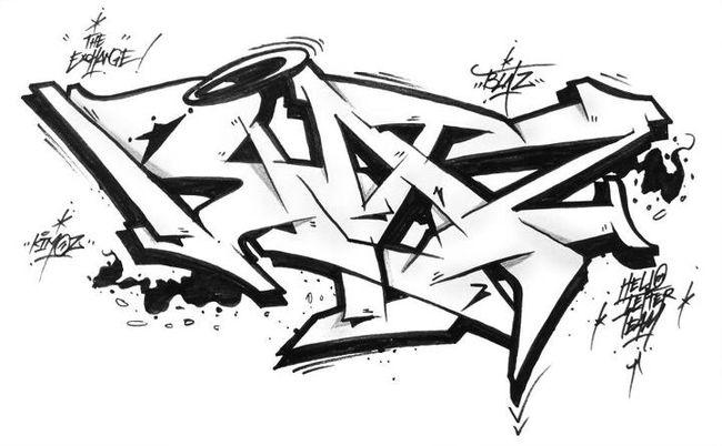 Sketch Par Blatz - Jambi (Indonesie)