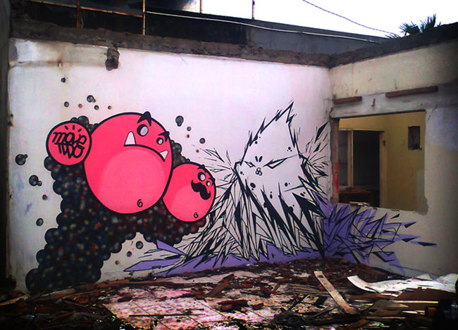 Personnages Par Movetwo, Mustboys - Jakarta (Indonesie)