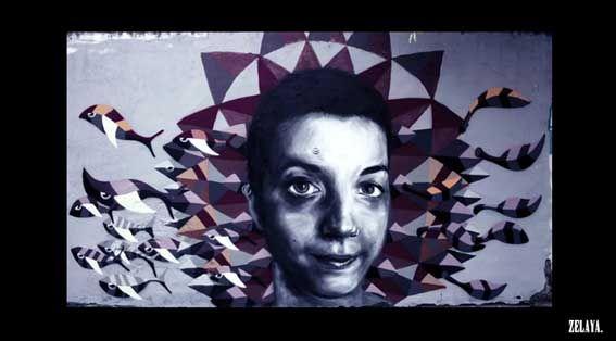 Street Art Par Zly - Ville De Mexico (Mexique)