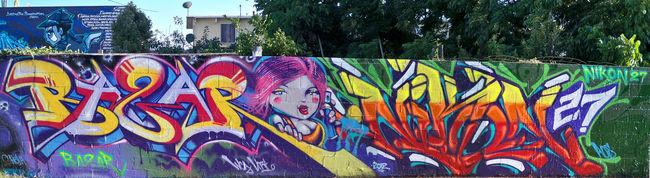 Street Art Par Bazar, Nikon27 - Los Angeles (CA)