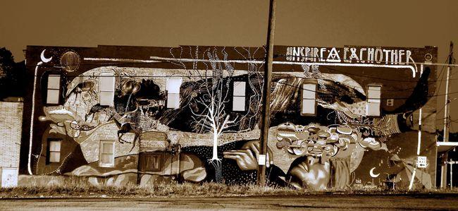 Fresques Par Freddy Sam, Ever - Atlanta (TX)