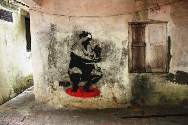 Street Art Par Tyler - Grand Mumbai (Inde)