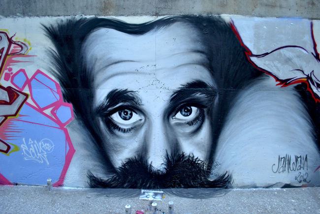 Street Art Par Jahwan - Nice (France)