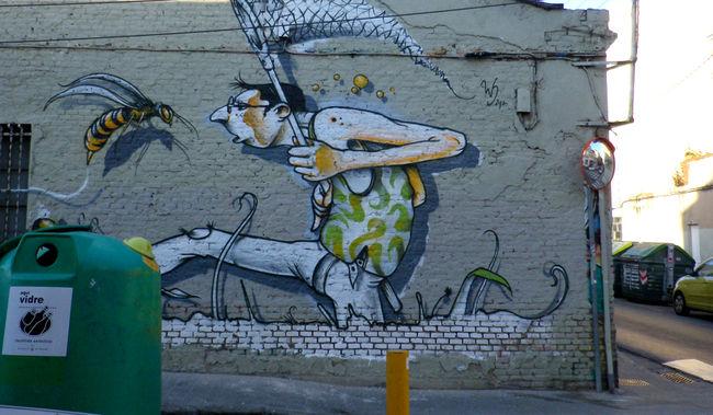 Street Art Par Werens - Sabadell (Espagne)