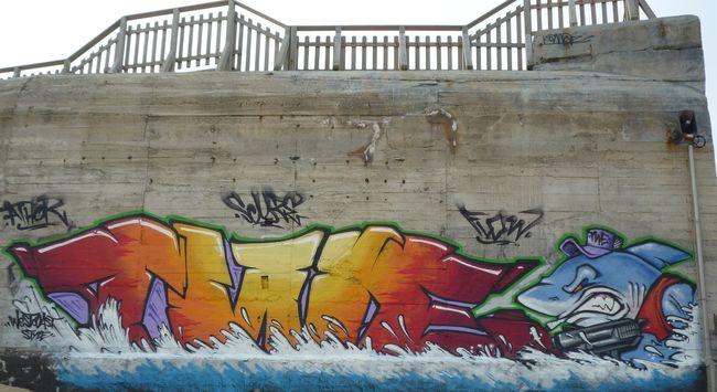 Piece By Flow, Athor2, Skuze - Labenne (France)