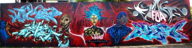 Fresques Par Blen 167, Zoner, Wiket - Aguadilla (Porto Rico)