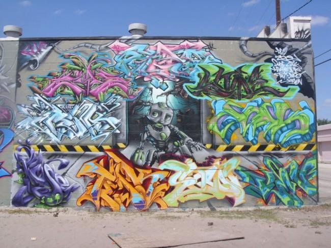 Fresques Par Blen 167, Zoner - Orlando (FL)