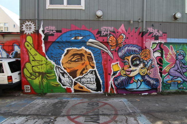 Personnages Par Irot, Agana - San Francisco (CA)