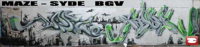 Big Walls By Syde - Orsay (France)