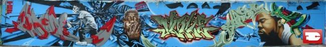 Big Walls By Syde - Massy (France)