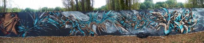 Fresques Par Dane, Sair, Spektr - Tours (France)