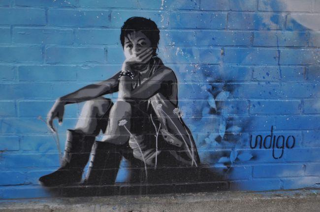 Street Art Par Indigo - Vitry-sur-Seine (France)