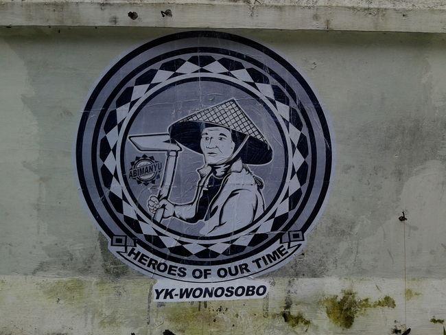Street Art Par Abimanyu Street Art - Yogyakarta (Indonesie)