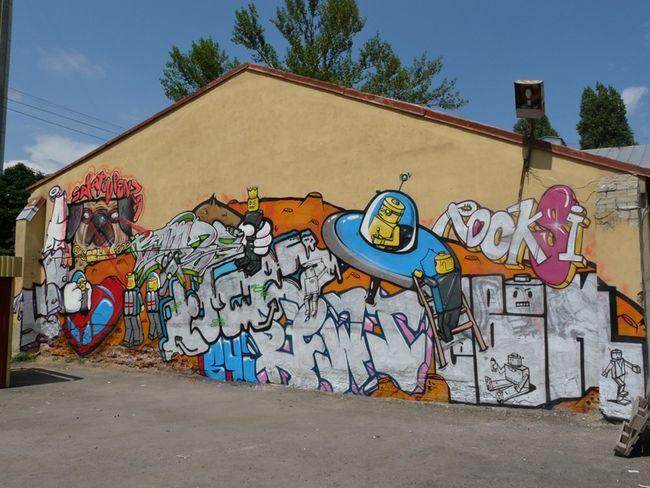Fresques Par Rocks - Saratov (Russie)