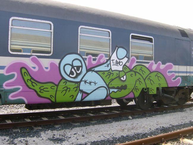 Street Art Par Satan - Syracuse (Italie)