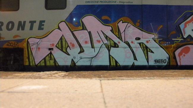 Street Art Par Tuma - Syracuse (Italie)