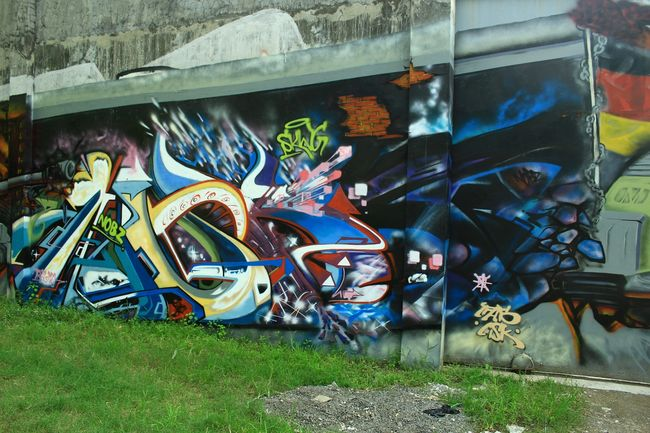 Fresques Par Nobzero - Surakarta (Indonesie)