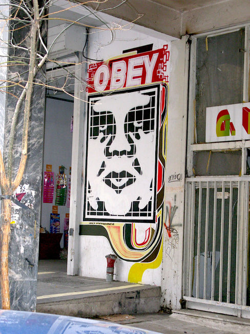 Street Art Par Dimnaip - Athenes (Grece)