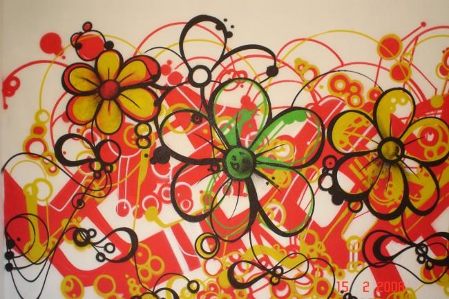 Street Art Par Flowerz - Bergerac (France)
